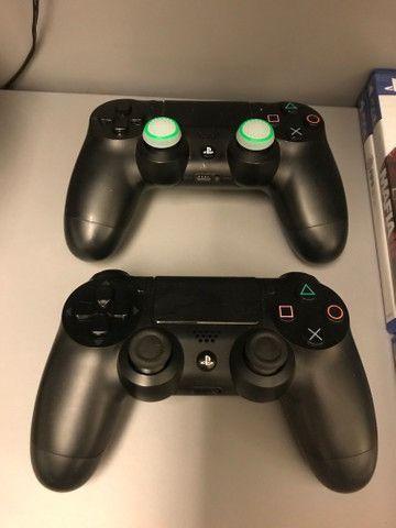 Vendo playstation 4 (+ 2 controles + 10 jogos) urgente - Foto 3