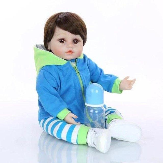 Bebês Reborn 100% silicone realista em promoção - Outros modelos a pronta entrega - Foto 3