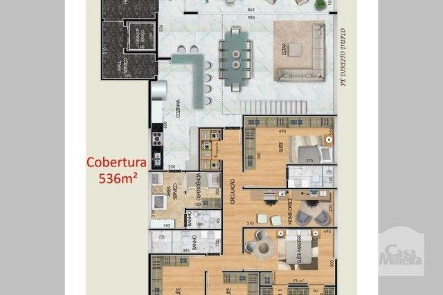 Apartamento à venda com 4 dormitórios em Santa lúcia, Belo horizonte cod:265827 - Foto 2