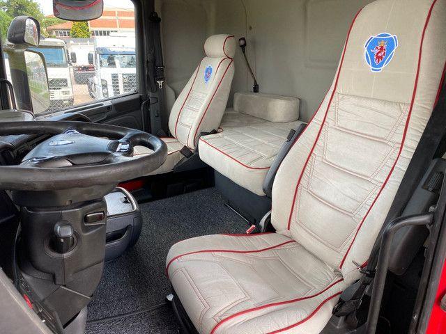 Scania R 440 4x2 Toco Automático Completo 2015 Rodas de Alumínio Fino Trato - Foto 13