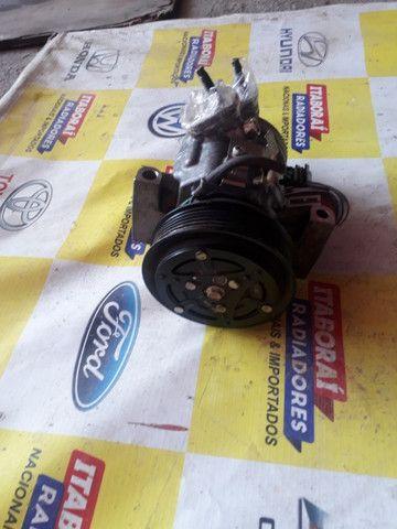 Compressor ford new ka 1.0 3cc 2015 2016 2017 2018 2019 2020 - Foto 2