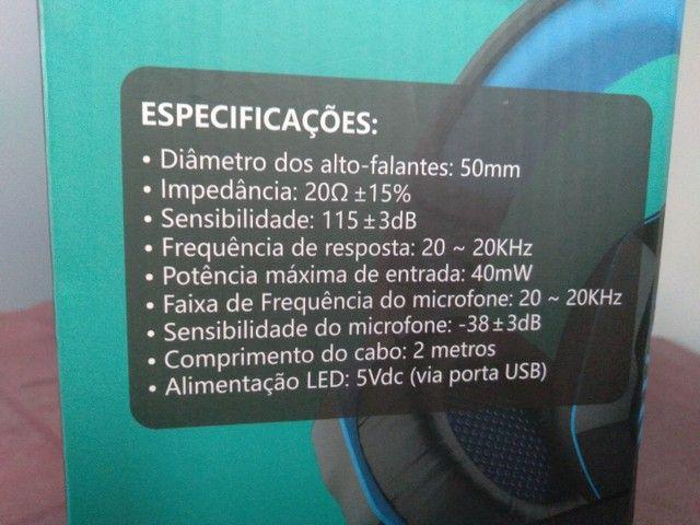 Headset Gamer Kp-491 Xbox Ps4 Pc Celular Smartphone - Foto 3