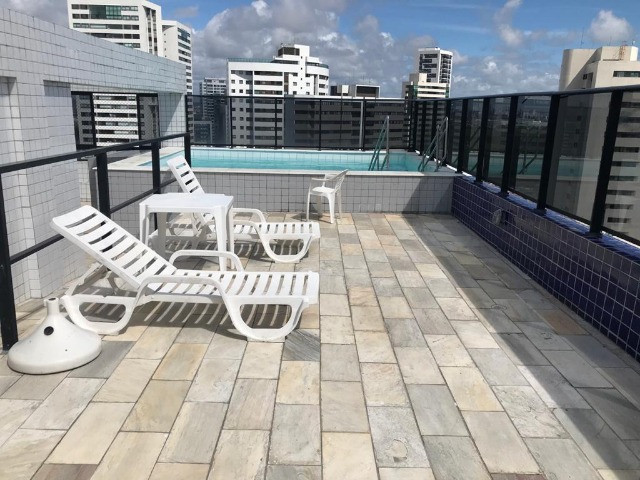 Flat tipo Studio Mobiliado no Bairro de Boa Viagem, Recife-PE - Foto 15