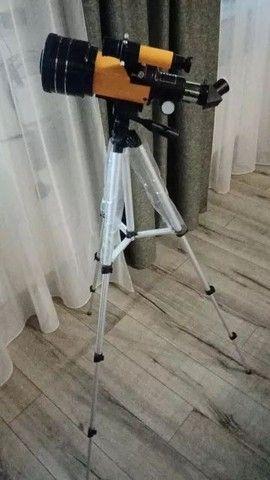Telescópio Astronômico F30070M - Até 12x Com Frete Grátis - Ribeirão  - Foto 3