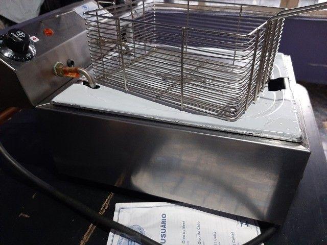 Fritadeira 5 LT semi nova - Foto 3