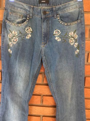 Calça jeans flare iodide novinha!! - Foto 2