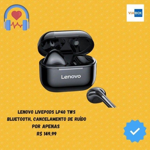 Fone Lenovo Livepods Lp40 Tws - Lacrado