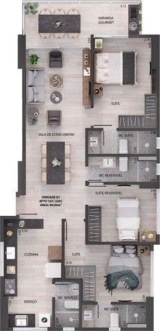 Apartamento à venda, 90 m² por R$ 650.000,00 - Miramar - João Pessoa/PB - Foto 15