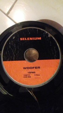 Caixas passivas Selenium 350wRMS cada (par) - Foto 3