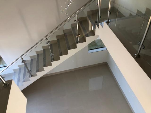 Sobrado 200 m2, acabamento Top, 03 Suítes, em Tangará, aceito carro, terrenos, casa menor - Foto 9
