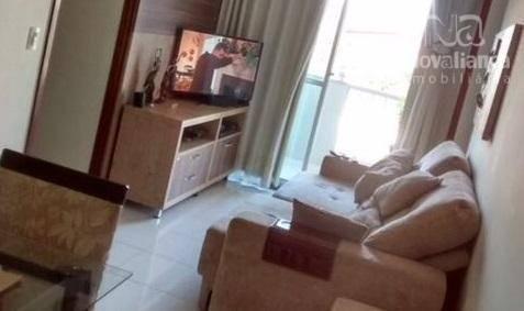 Apartamento com 3 dormitórios à venda, 78 m² por R$ 340.000 - Jardim Camburi - Vitória/ES - Foto 11