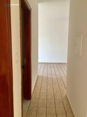 Apartamento no Edifício Apiacás com 3 dormitórios para alugar, 86 m² por R$ 1.000/mês - Foto 7