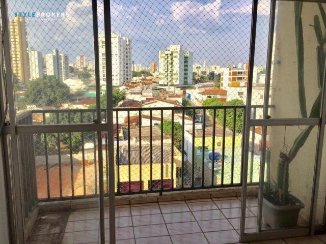 Apartamento no Edifício Apiacás com 3 dormitórios para alugar, 86 m² por R$ 1.000/mês - Foto 2