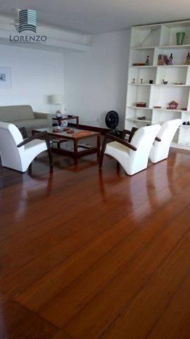 Ondina Apart - Apartamento com 3 dormitórios para alugar, 120 m² por R$ 3.024/mês - Ondina
