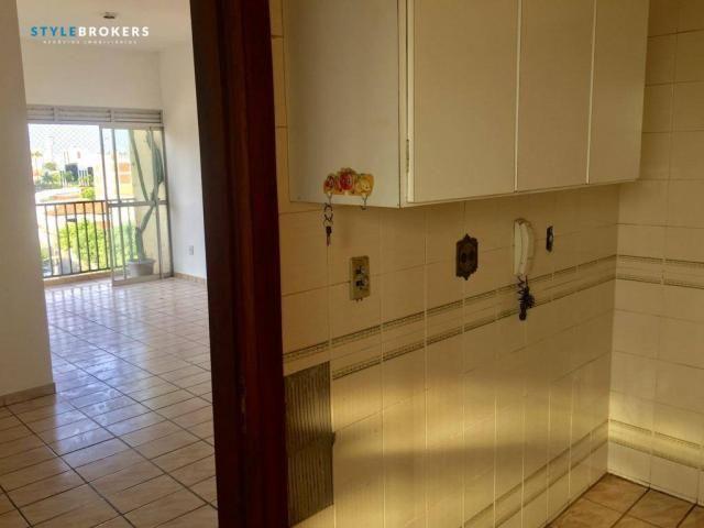 Apartamento no Edifício Apiacás com 3 dormitórios para alugar, 86 m² por R$ 1.000/mês - Foto 20