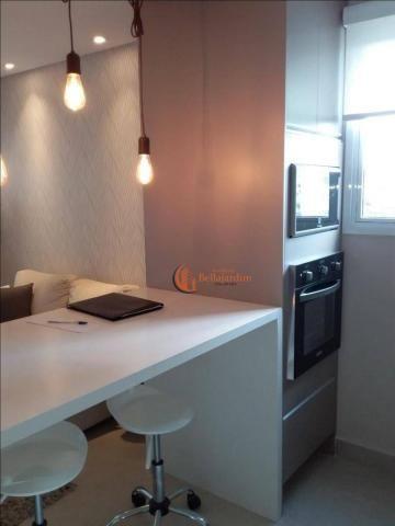 Apartamento à venda, 53 m² por r$ 345.900,00 - jardim - santo andré/sp - Foto 6