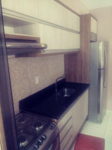 Apartamento Semi Mobiliado no Condomínio Villa Jardim Orquídea 3 Qts - Foto 9