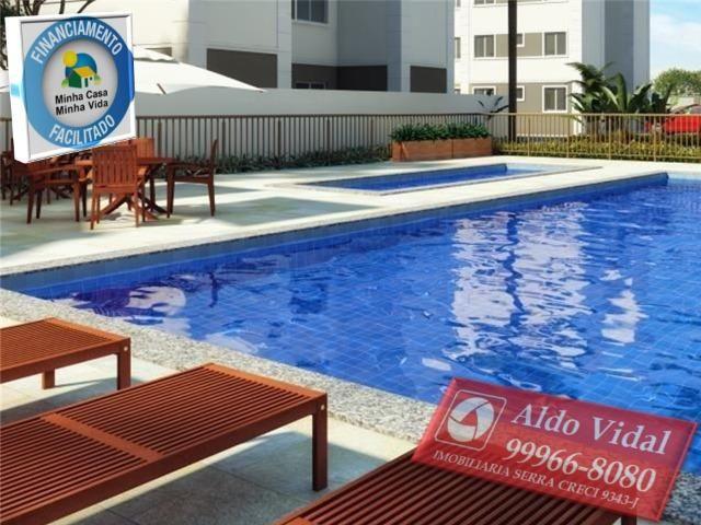 ARV53- Apartamentos 2 quartos Próximo as Praias da Serra - ES - Foto 3