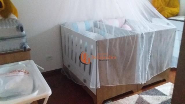 Sobrado com 3 dormitórios à venda, 166 m² por r$ 1.170.000,00 - jardim - santo andré/sp - Foto 9