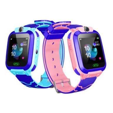 Relógio smartwatch com bateria recarregável e função de localização da criança