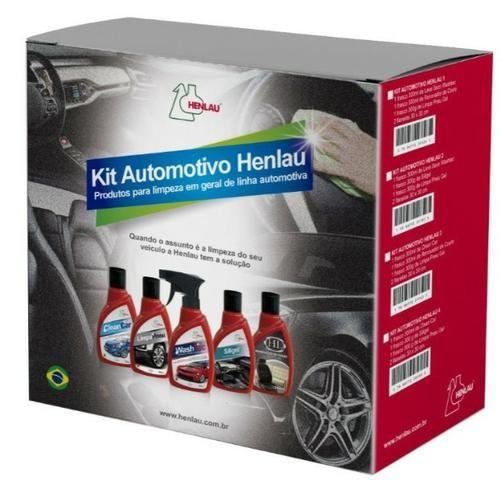 Kit Limpeza Automotiva Clean Car Detergente com Cera,Renovador de Couro,Limpa Pneu - Foto 2