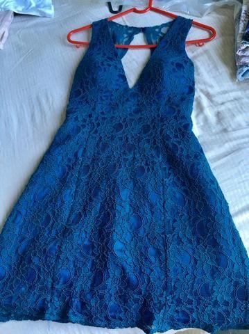 Vestido c/ renda