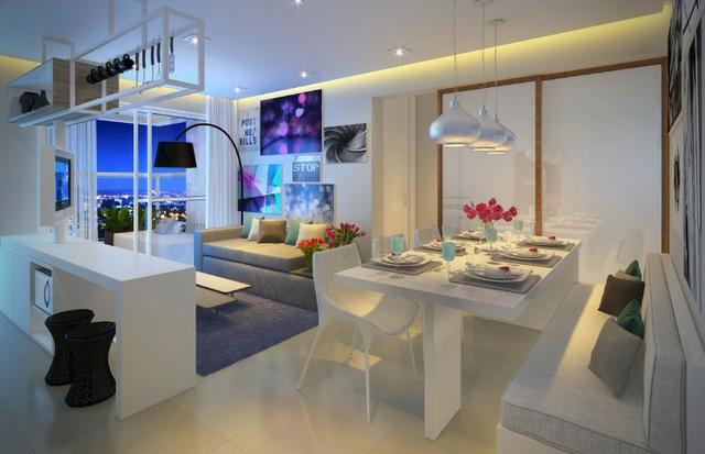 JM - Apartamento com Vista Mar 1 dormitório nos Ingles - Promocional - Foto 3