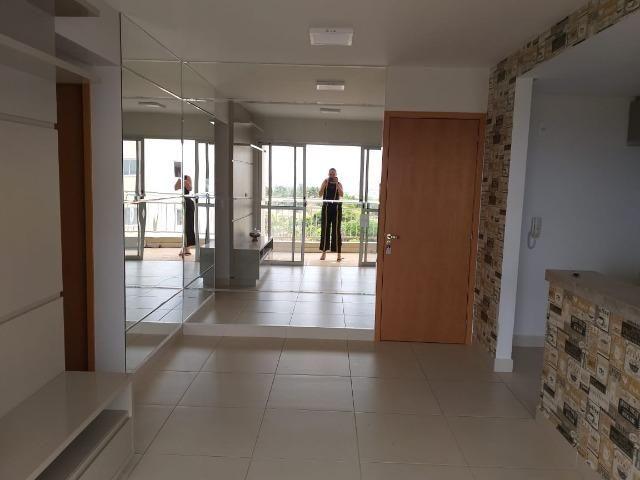 Apartamento Cond. Jardins do Eden II 2 quartos sendo 1 suite completo em armários - Foto 4
