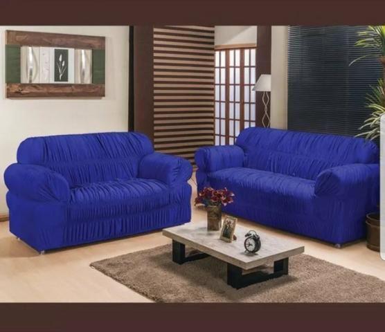 Capas de sofá 3 e 2 lugares - Foto 3