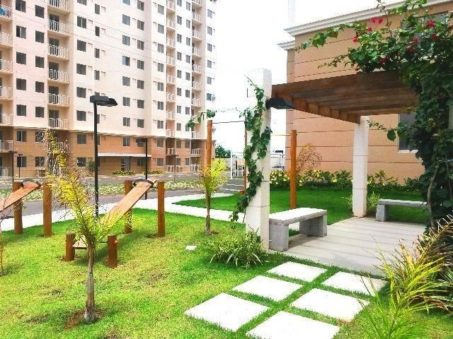 Apartamento com móveis projetados - Cond. Clube Costa Araçagi - Foto 17