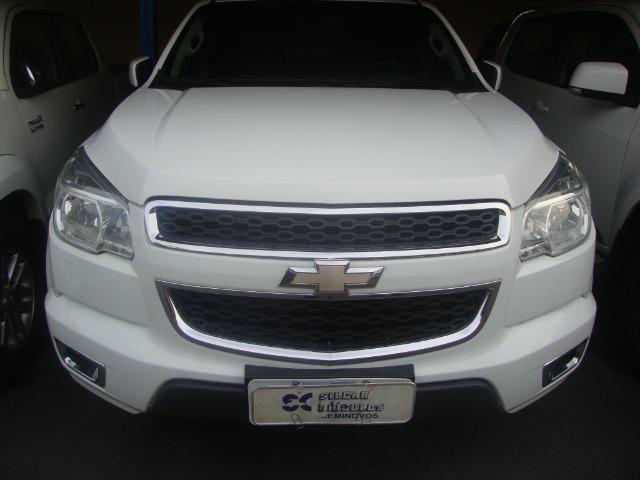 Gm - Chevrolet S10 LT 4x4 Aut 2014/14 Branca