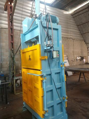 Enfardadeira prensa reciclagem pronta entrega - Foto 3