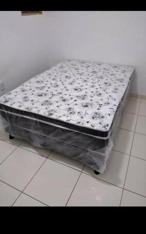 Cama box casal com colchão acoplado - Foto 5