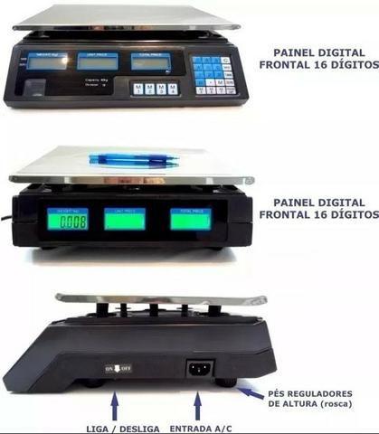 Balança 40kg Eletrônica Alta Precisão Digital Segma - Foto 3