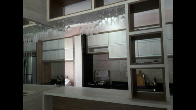 Apartamento Semi Mobiliado no Condomínio Villa Jardim Orquídea 3 Qts - Foto 5