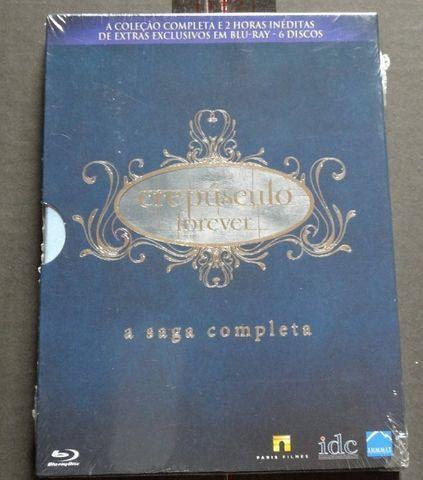Box Blu Ray Crepúsculo Forever - A Saga Completa
