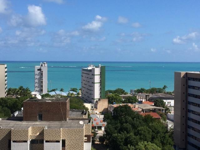 Apartamento Quarto e Sala com vista para o mar de Pajuçara. - Foto 15