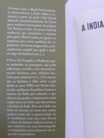 Livro - A Índia desde 1980 - Foto 2