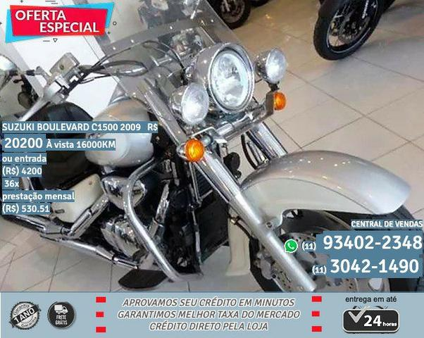 Suzuki prata boulevard c1500 2009 R$20299 16098km