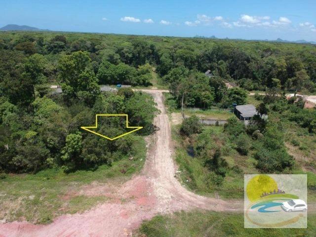 Terreno à venda, 624 m² por R$ 65.000,00 - Praia do Imperador - Itapoá/SC