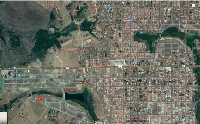 Goianesia Lote Parque das Palmeiras 3 - frente a pista de caminhada