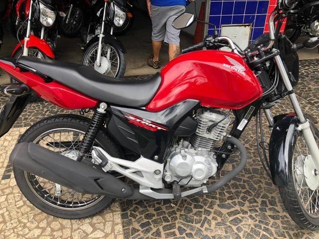 CG Start 160 17/17 vermelha moto super conservada