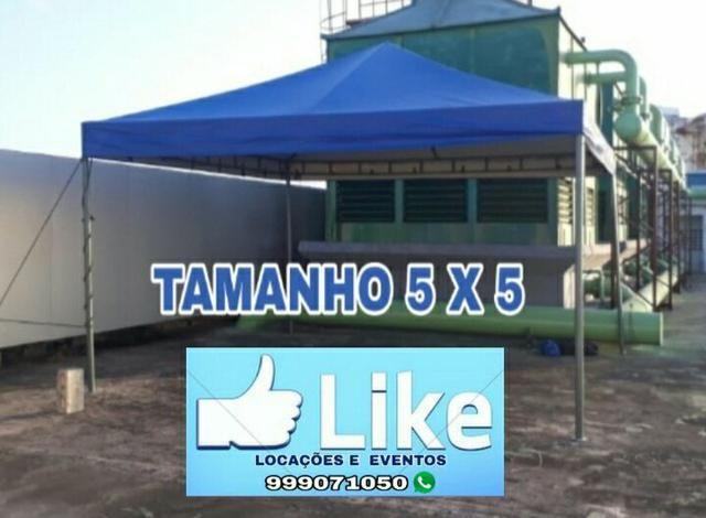 Locação de tendas/ promoção, diárias à partir de r$100,00