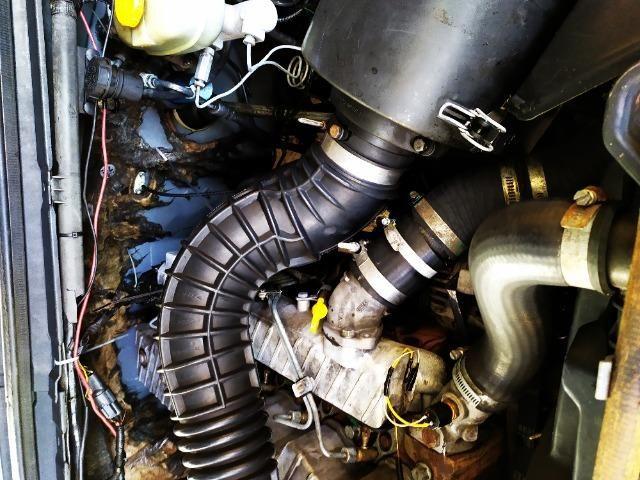 F250 99 diesel vendo ou troco em carro - Foto 10