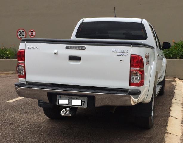 Toyota Hilux Branca 14/15 SRV com controle de estabilidade e roda aro 17 - TOP - 2015 - Foto 3