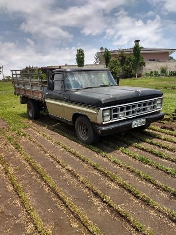 F-1000 carroceria diesel 1982 troco por Ford/f250 gasolina// sem mecânica// documentada - Foto 3