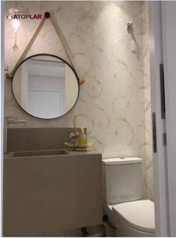 Apartamento garden com 3 dormitórios à venda, 208 m² por r$ 1.230.000,00 - pioneiros - bal - Foto 8