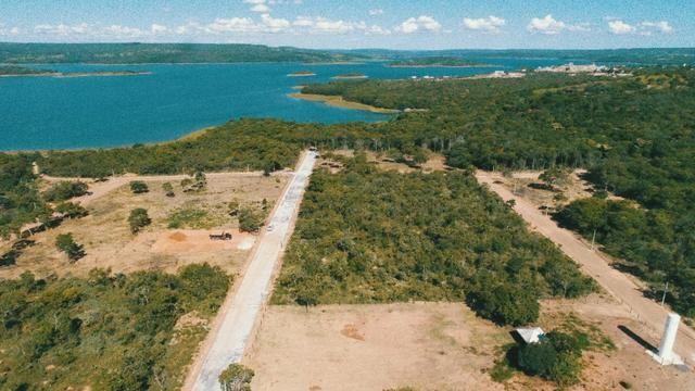 Lançamento todo pavimentado e com area de lazer.a beira do lago corumbá 4 - Foto 2