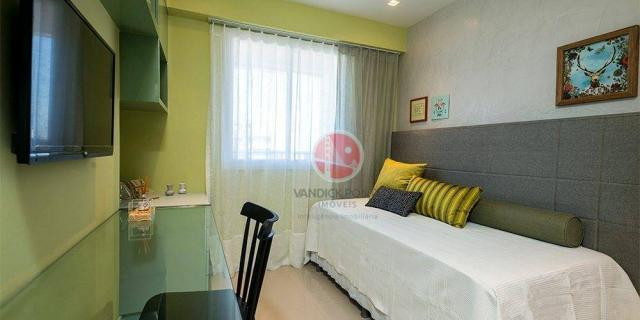 Apartamento com 3 dormitórios à venda, 79 m² por R$ 891.000,00 - Meireles - Fortaleza/CE - Foto 12