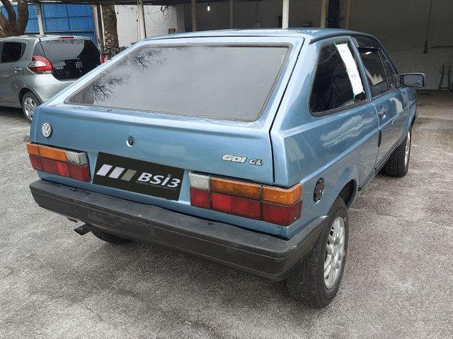 Volkswagen gol 1.8 CL com gnv ano 1991 - Foto 3